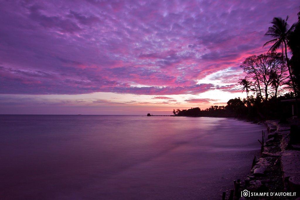 """Purple sunset"